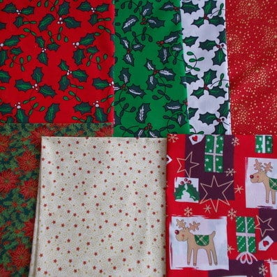 christmas fat quarter bundle diva crafts