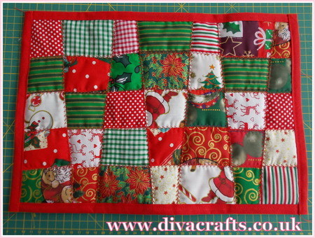 christmas placemat free project diva crafts (7)