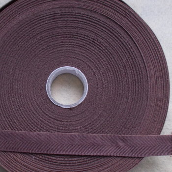 Herringbone Tape 20mm Wide - Brown