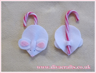 mouse christmas tree decorations free project diva crafts (3)