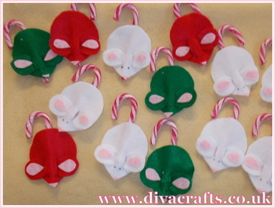 mouse christmas tree decorations free project diva crafts (4)