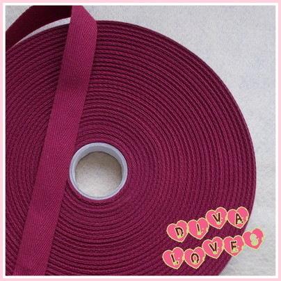 herringbone tape 20mm wide cotton wine diva crafts diva loves week 105