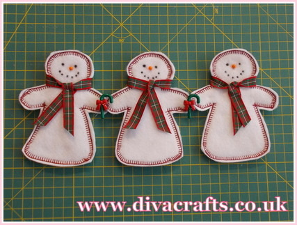 felt snowman mini project diva crafts (3)
