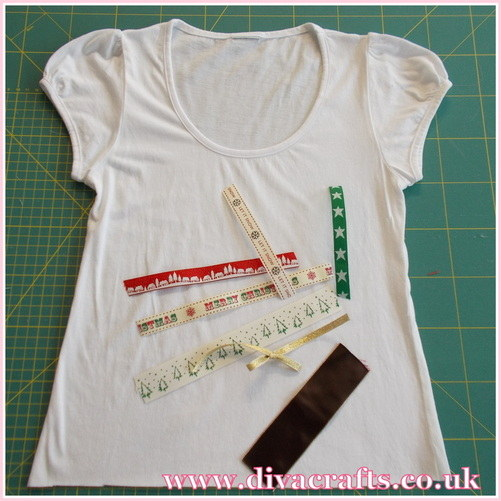 christmas tshirt free mini project diva crafts (1)