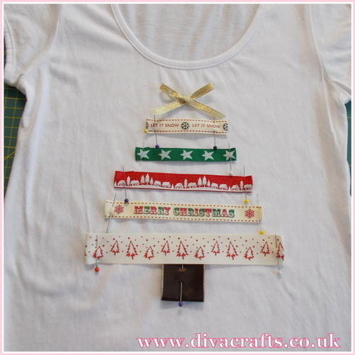 christmas tshirt free mini project diva crafts (2)
