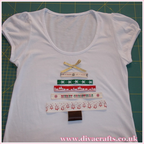 christmas tshirt free mini project diva crafts (3)