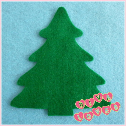 felt christmas tree green diva crafts diva loves week 106