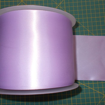 Sash Ribbon 10cm Wide  - Lilac
