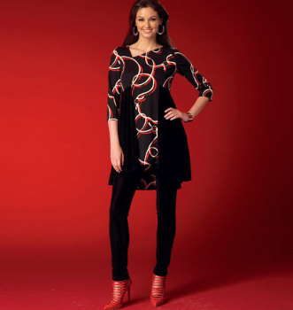 McCall's 7028 Dress & Leggings Sewing Pattern Sizes 8-16