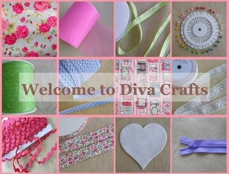 Diva Crafts fabrics and haberdashery Gosport