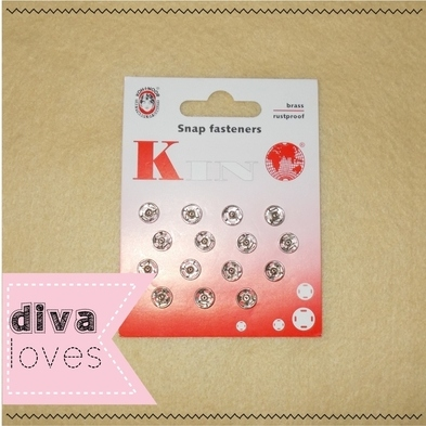 snap fasteners Diva Crafts Diva Loves week 117