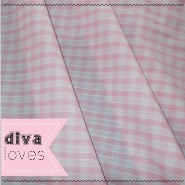 pink gingham fabric diva crafts diva loves week 119