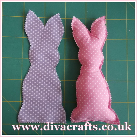 easter bunny free tutorial sewing project diva crafts (2)