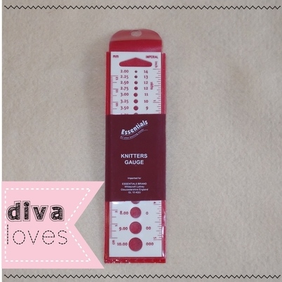 knitting needle gauge diva crafts diva loves week 120