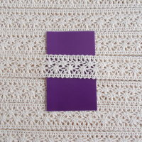 Cotton Lace - 25mm Wide Natural