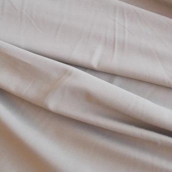 Dark Beige Polyester Viscose Elastane Fabric