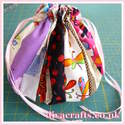 diva craftys fabric scraps bag free project