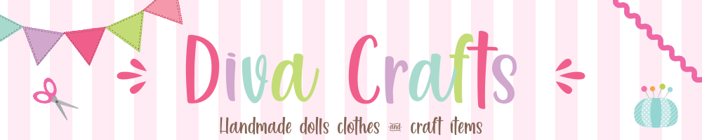 Diva Crafts, site logo.