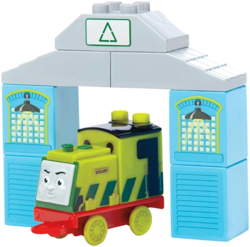 Scruff - Thomas & Friends Buildable Engines - Mega Bloks