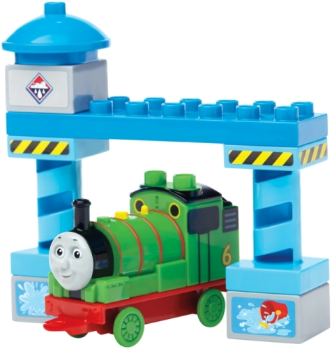 Percy - Thomas & Friends Buildable Engines - Mega Bloks