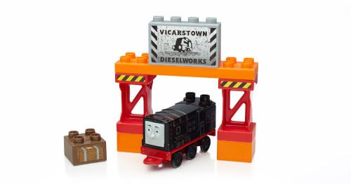 Diesel - Thomas & Friends Buildable Engines - Mega Bloks