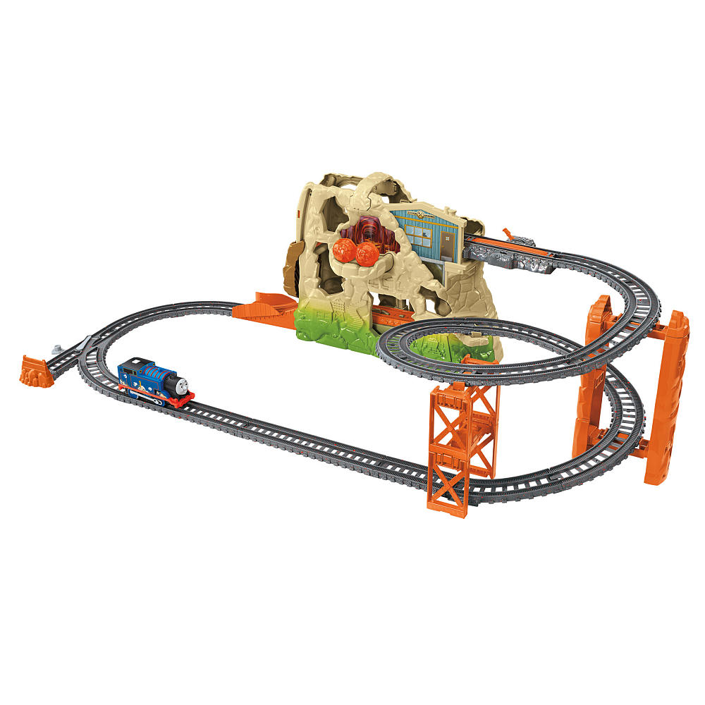 Thomas' Volcano Drop Set - Trackmaster Revolution