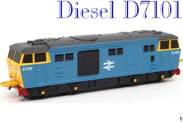Diesel D7101 - Ertl