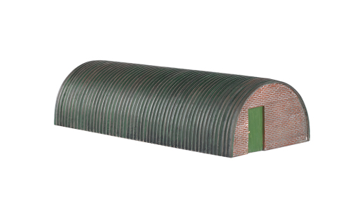 Corrugated Hut - Bachmann