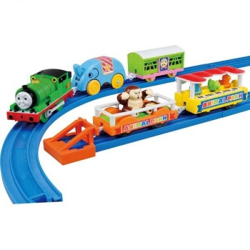 Percy and the Zoo wagons - Plarail/Tomy