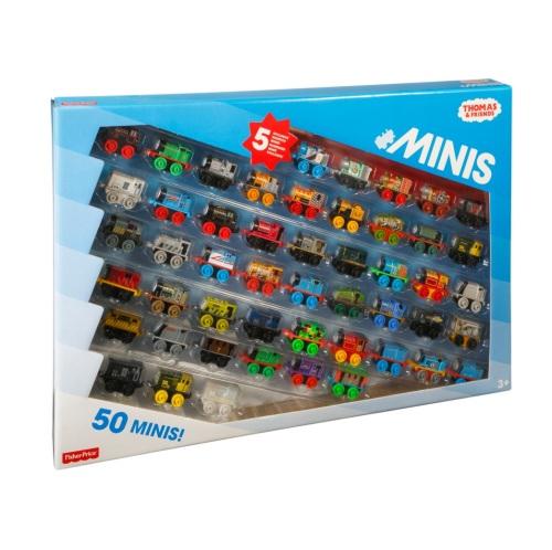 Thomas Minis 50pk incl 5 Exclusive Warriors - Thomas Minis