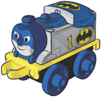 Thomas as Batman -  Thomas Minis Wave 4 DC