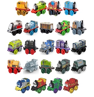 Wave 4 23 Engines - Thomas Minis Wave 4