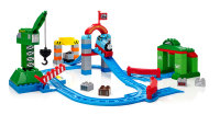 Zooming Along at Brendam Docks - Thomas Mega Bloks