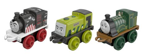 3pK Minis - Classic Emily , Classic Scruff and Spooky Porter - Thomas Minis