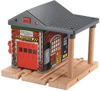 Sodor Fire Station - Light and Sounds - Thomas Wooden