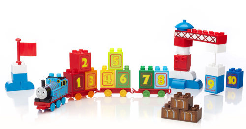 123 Learning Train - Mega Bloks