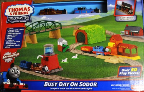 Busy Day on Sodor Playset