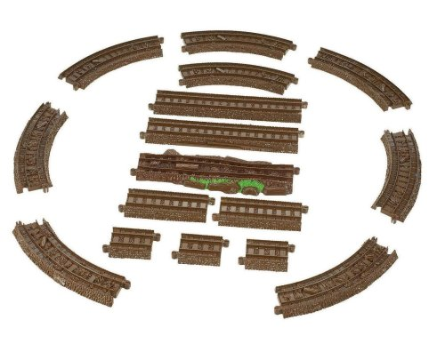 Misty Island Track Pack - Trackmaster