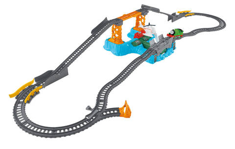 Harold's High Flying Rescue Set - Trackmaster Revolution