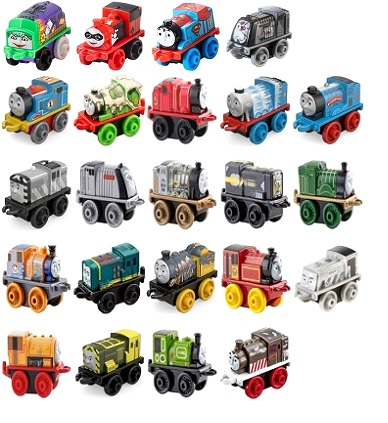 Wave 3 - 23 Engines - Thomas Minis