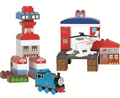 Sodor Airport with Harold and Thomas - Mega Bloks