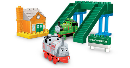 Great Waterton with Stanley and Percy - Mega Bloks