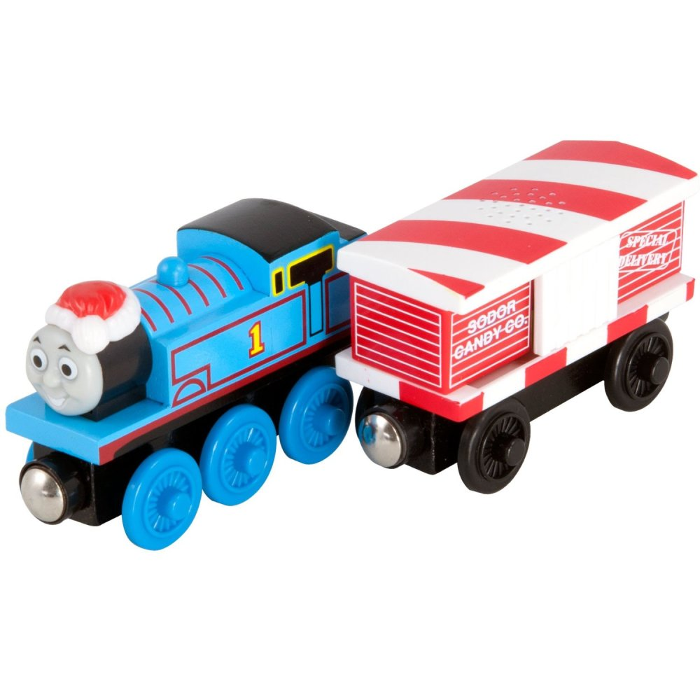 Thomas and Musical Candy Cane Car - Thomas Wooden
