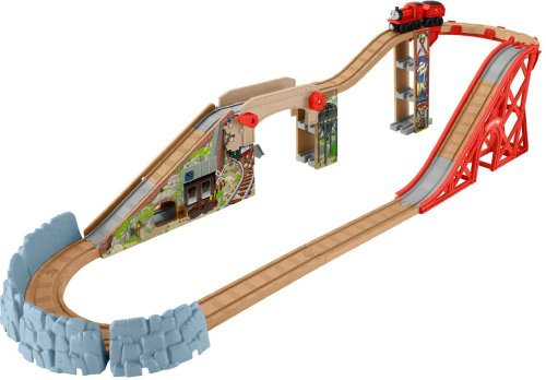 Speedy Surprise Drop - Start Your Engines Playset - Thomas Wooden