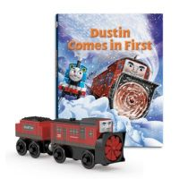 Dustin Comes in First - Storybook Pack - Thomas Wooden