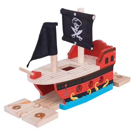 Pirate Galleon - BigJigs