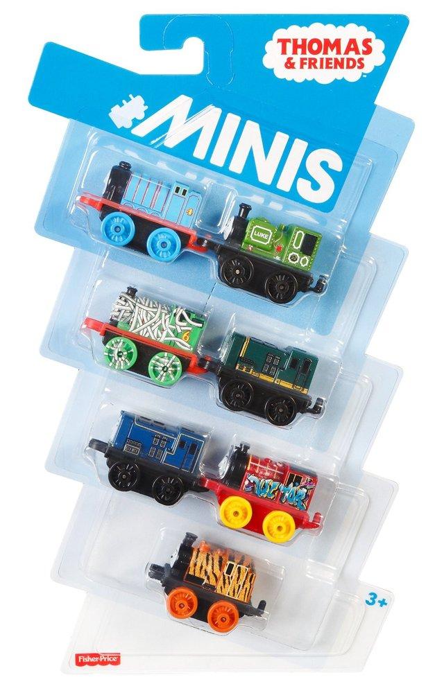 7 Pk Minis - Classic Gordon,Classic Luke , Creature Dash ,Classic Paxton ,