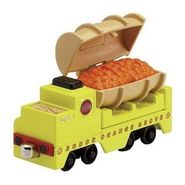 Orange Barrel Car - Take Along
