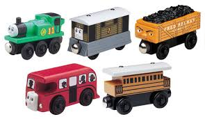 5 Car Gift Set - Thomas Wooden