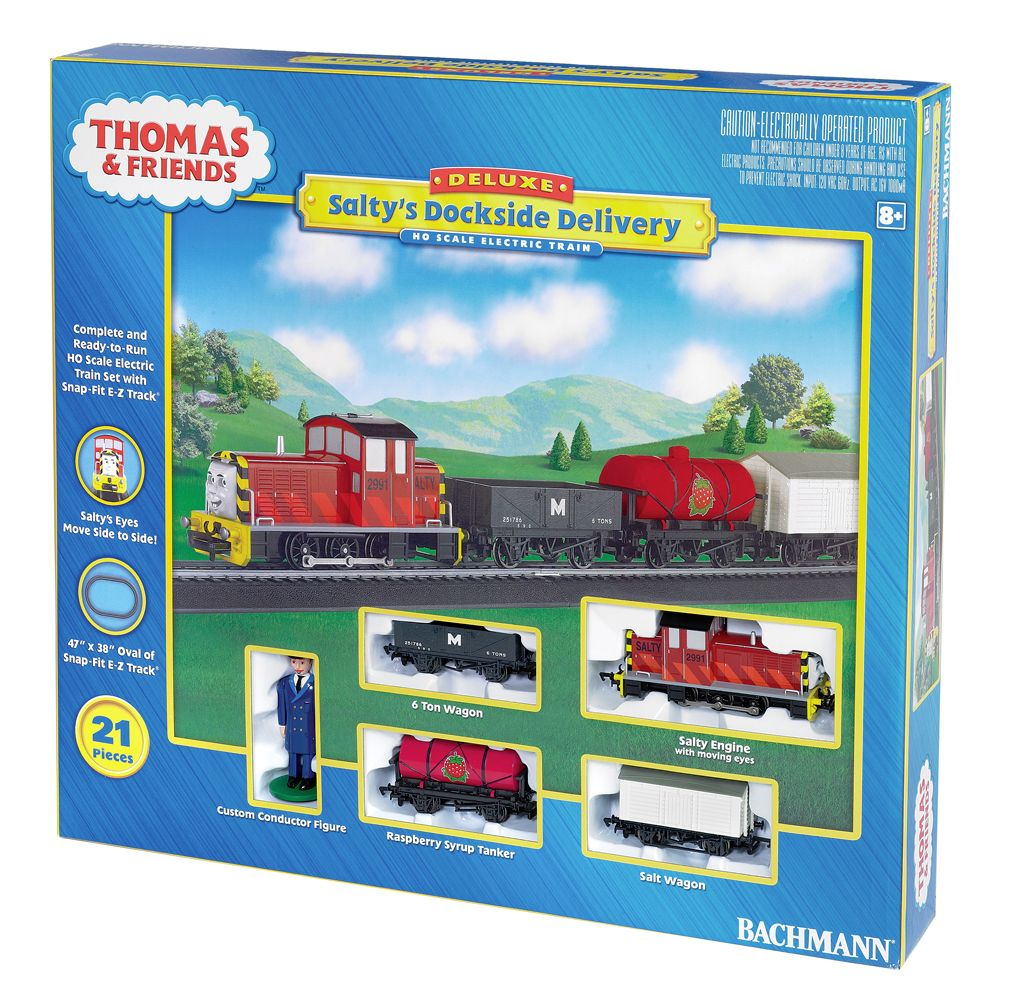 Salty's Dockside Delivery Set - Bachmann Thomas and Friends